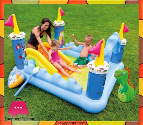 Intex Fantasy Castle Inflatable Play Center 73 X 60 X 42 Ages 2+ Price in Pakistan