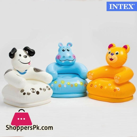 Intex Happy Animal Chair, For Age 3-8 - 68556