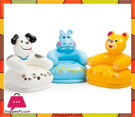 Buy Intex Happy Animal Chair For Age 3 8 68556 At Best