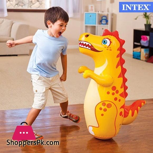 """Intex Inflatable 3D Bop Bag 38"""" x 17.5"""" - Age 2+ - 44669"""