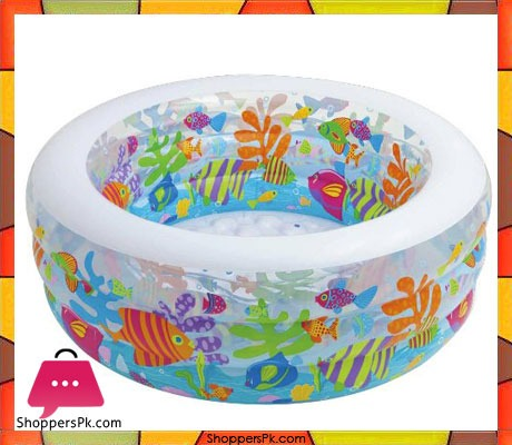 Intex-Kids-Aquarium-Pool,-60--x-22-Price-in-Pakistan