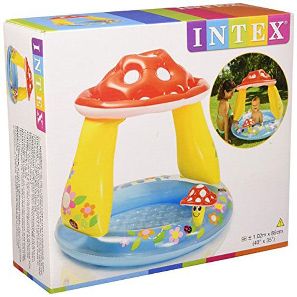 Intex Mushroom Inflatable Baby Pool - Age 1-3 - 57114