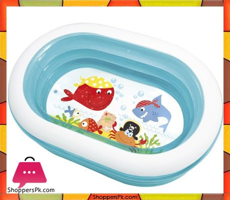 Buy Intex Oval Whale Fun Pool 5 X 3 5 X 1 5 Feet Age 3 57482 At Best Price In Pakistan