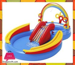 Intex-Rainbow-Ring-Inflatable-Play-Center,-117-X-76-X-53-Ages-2+-Price-in-Pakistan