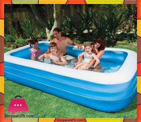 Buy intex rectangular swim center family swimming pool for Intex pool 120 hoch
