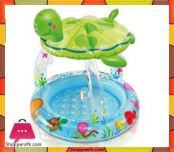Intex-Sea-Turtle-Shade-Inflatable-Baby-Pool,-40--X-42-Ages-1-3-Price-in-Pakistan