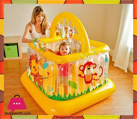 Intex Soft Sides Baby Gym Play Center Age 9 18 Months