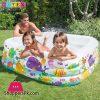 Intex Swim Center Clearview Aquarium Inflatable Pool - 5.2 x 5.2 x 1.6 Feet - Age 3+ - 57471
