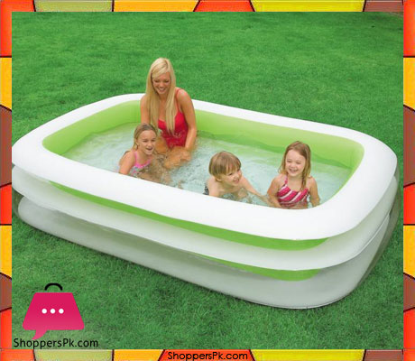 Buy Intex Swim Center Family Inflatable Pool 8 5 X X 1 8 Feet Age 6 56483 At Best