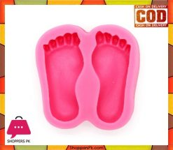 Silicone Fondant Feet Mould