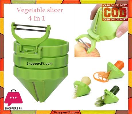 Vegetable slicer 4 in 1