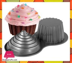 2-Cup-Cake-Maker-Non-Stick-Giant-Cupcake-Mould-Jumbo-Cake-Mold-in-Pakistan