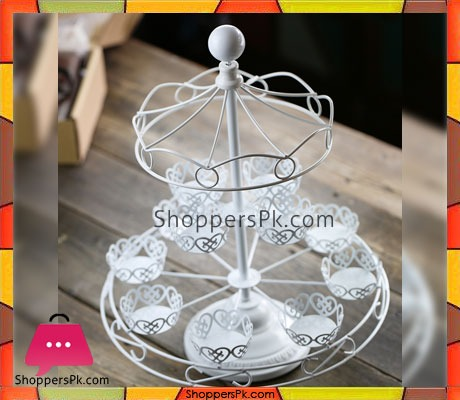 Carousel-Cupcake-Stand-12-counts,-Dessert-Stand-Holder-in-Pakistan-5