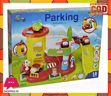 McQueen Garage Parking