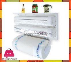 Triple-Paper-Dispenser-Tri-wrap,-Foil-Paper,-Cling-Cutter,-Kitchen-Tool-in-Pakistan