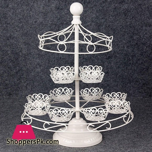 Umbrella Style Cupcake Stand 12 counts, Dessert Stand Holder