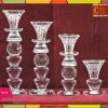 4 Pcs Crystal Candle Holder Price in Pakistan