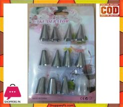 Cake Decorating Icing Nozzels With Coupler