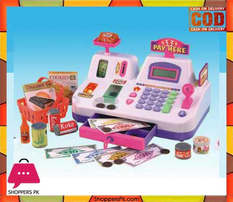 Cash Rigister Toy LCD Electronic