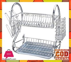 Dish Plate Rack Dish Drainer 2 Layer Price in Pakistan