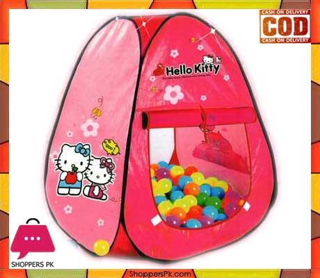 Hello Kitty Tent With 50 Soft Balls