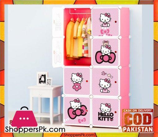 Hello-Kitty-Wardrobe-Cabinet-Box-8-Cubes-Wardrobe-in-Pakistan