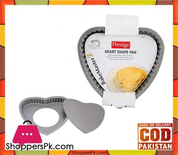 Prestige Loose Base Heart Shaped Pan - 13 Cm 13221