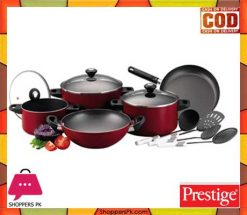 Prestige Classique Non-stick Cookware Set of 12 Piece Price in Pakistan