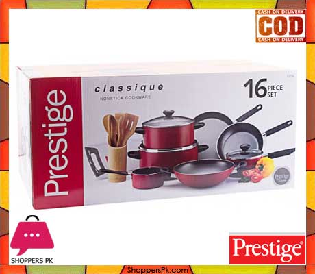 Buy Prestige Classique Non Stick Cookware Set Of 16 Piece