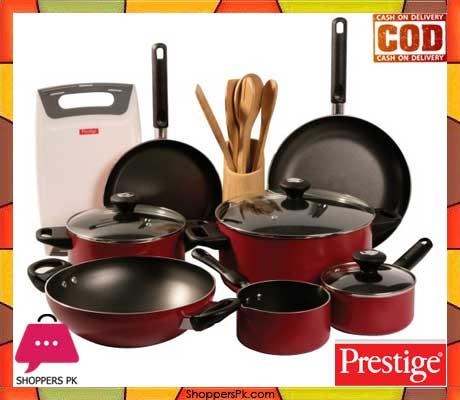 Buy Prestige Classique Non Stick Cookware Set Of 16 Piece