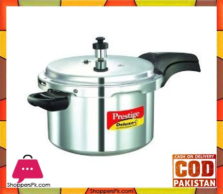 Prestige Deluxe Plus Aluminium Pressure Cooker 3 Liters Price in Pakistan