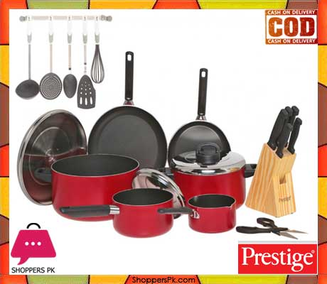 Prestige non stick cookware set of 22 pieces price in for Gardening tools online in pakistan