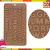 Silicone Chocolate Mold Capital Letters