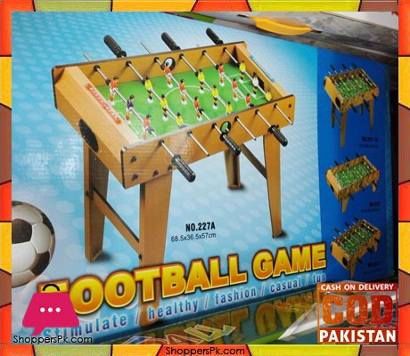 Buy Table Football Children S Toys 6 Poles Game At Best