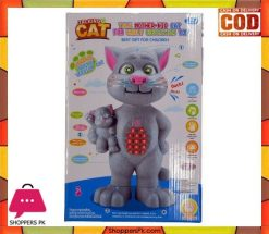 Talking Mother & Kid Tom Cat Early Education Toy For Kids (Big-Size)