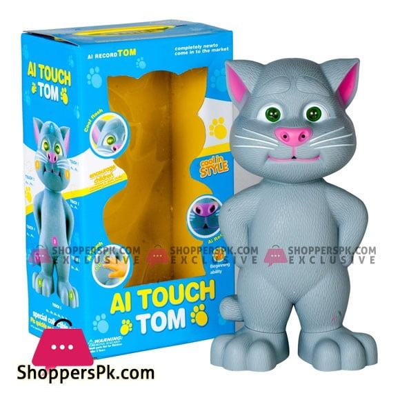 AI Touch Record Big Size Talking Tom Cat
