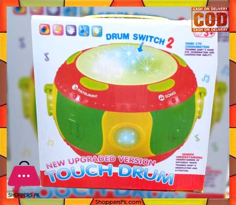 Touch Drum Light & Sound