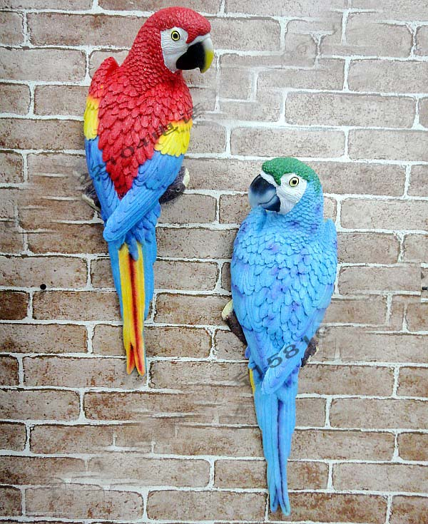 Wall Hanging Real Like Macaw Parrot Price in Pakistan