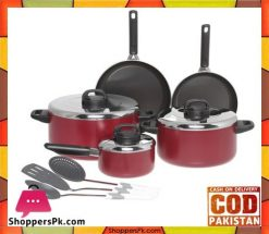Prestige Aluminum Non-stick Cookware Set of 11-Piece 20916 Price in Pakistan