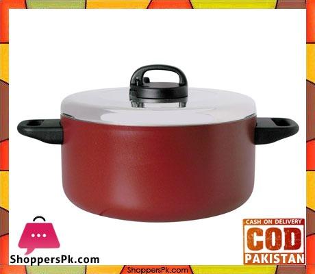 Prestige Classique Covered Cook Pot - 2 Handles - Aluminium Lid - 26 cm - 20817