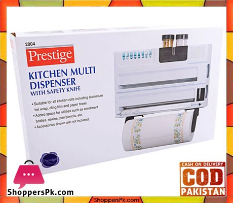 Prestige-Kitchen-Multi-Dispenser-with-Safety-Knife,-White-2004-Price-in-Pakistan