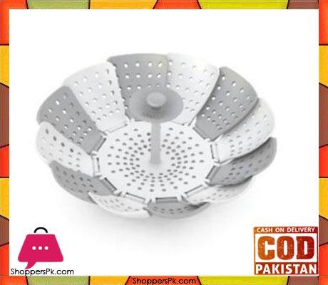 Lotus Plus Folding Non-scratch Steamer Basket