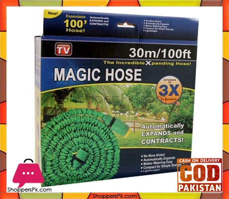 Magic-Hose-Pipe-100ft-Water-Spray-Gun-In-Pakistan