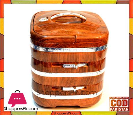 7.5 Liter Insulated ABS Wooden Hot Pot