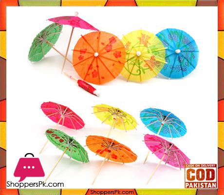 12 Pcs Paper Umbrellas Toothpick