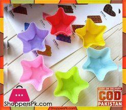 12-pcs-silicone-cupcake-mold-star