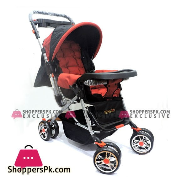 3 Position Baby Stroller in Red
