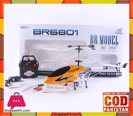 3.5 Channels RC Helicopter with Gyro - BR6801