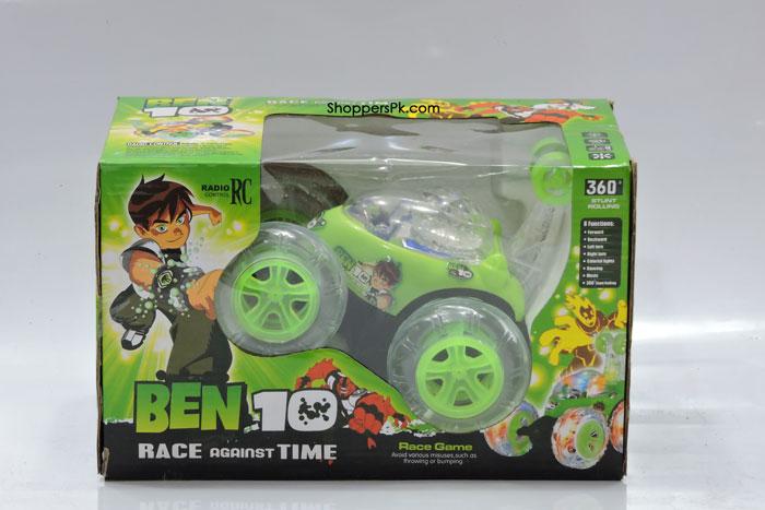 360 Degree Ben 10 Stunt Car Radio Control