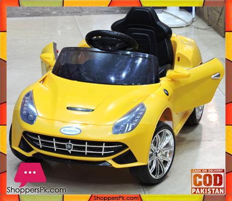 Superieur B O Ride On Ferrari With Remote Control